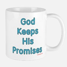 Blue Noah's Cross God Keeps Mug