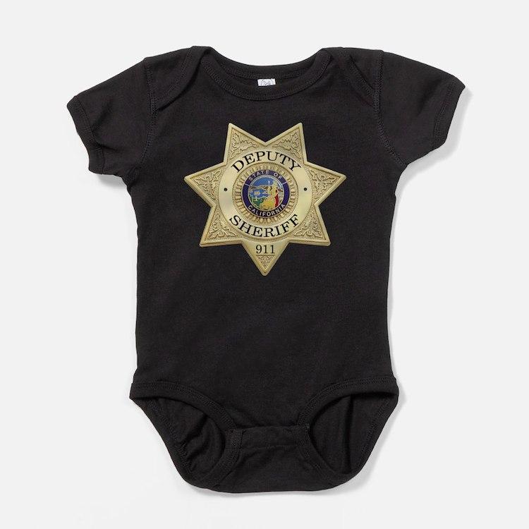 Cute California deputy Baby Bodysuit