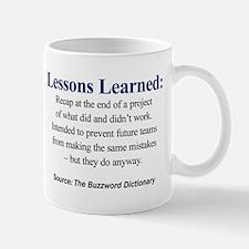 Left-handed Lessons Learned Mugs