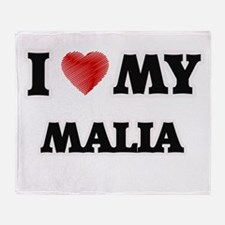 I love my Malia Throw Blanket