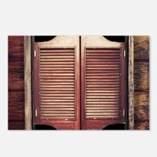 Saloon Doors Postcards (Package of 8)