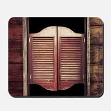 Saloon Doors Mousepad
