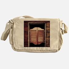 Saloon Doors Messenger Bag
