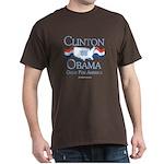 Clinton / Obama 2008: Great for America Dark T-Shi