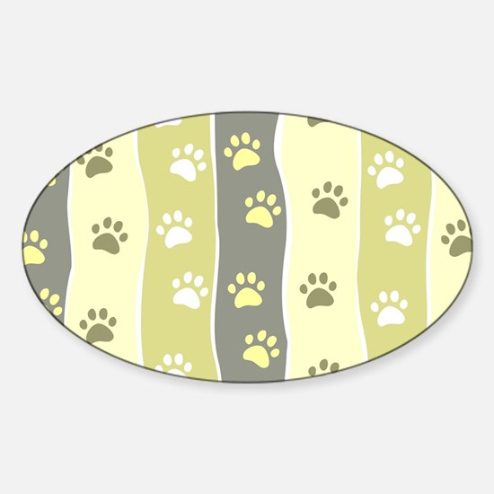 Cute Paw Prints Decal
