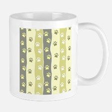 Cute Paw Prints Mugs
