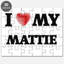 I love my Mattie Puzzle