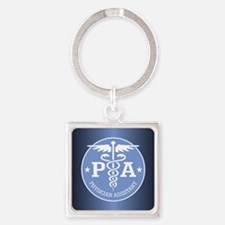 Caduceus PA (rd) Keychains