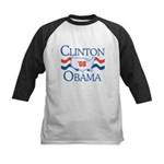 Clinton / Obama 2008 Kids Baseball Jersey