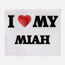 I love my Miah Throw Blanket