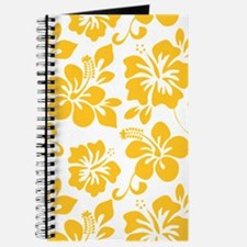 Yellow Hawaiian Hibiscus Journal