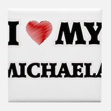 I love my Michaela Tile Coaster