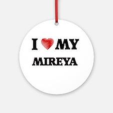 I love my Mireya Round Ornament