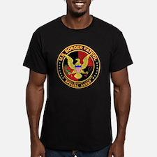 Border Patrol Seal - back T-Shirt