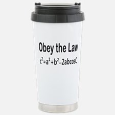 Cool Trigonometry Travel Mug
