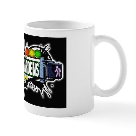 Carroll Gardens (Black) Mug