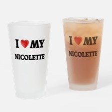 I love my Nicolette Drinking Glass