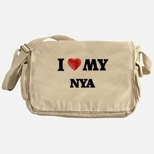 I love my Nya Messenger Bag