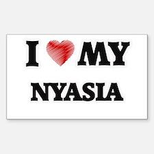 I love my Nyasia Decal