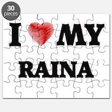 I love my Raina Puzzle
