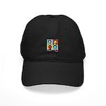 Clinton and Obama art Black Cap