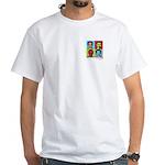 Clinton and Obama art White T-Shirt