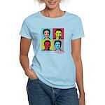 Clinton and Obama art Women's Light T-Shirt