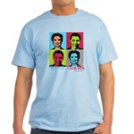 Clinton and Obama art Light T-Shirt