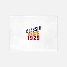 Classic Since 1929 5'x7'Area Rug