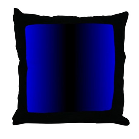 Electric Blue Throw Pillow by Admin_CP11861778