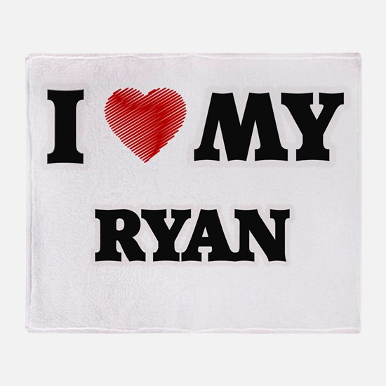 I love my Ryan Throw Blanket