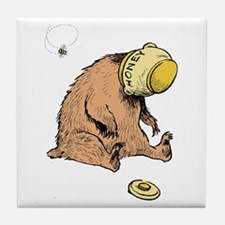 HONEY BEAR * Tile Coaster
