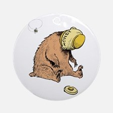 HONEY BEAR * Ornament (Round)