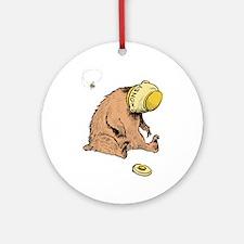 HONEY BEAR * Ornament (Round)