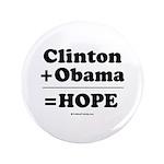 Clinton + Obama = Hope 3.5