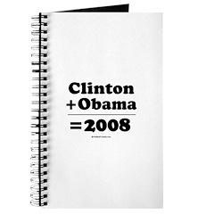 Clinton + Obama = 2008 Journal