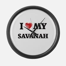 I love my Savanah Large Wall Clock