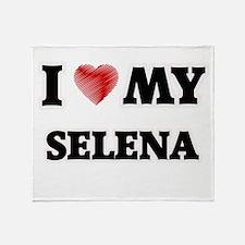 I love my Selena Throw Blanket