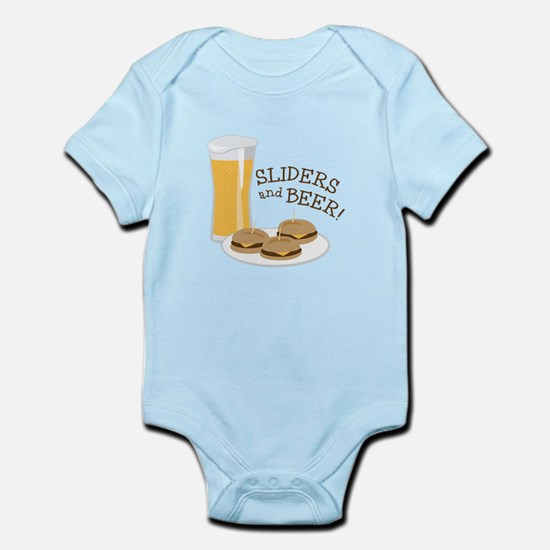 Sliders And Beer Body Suit