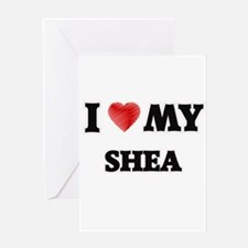 I love my Shea Greeting Cards