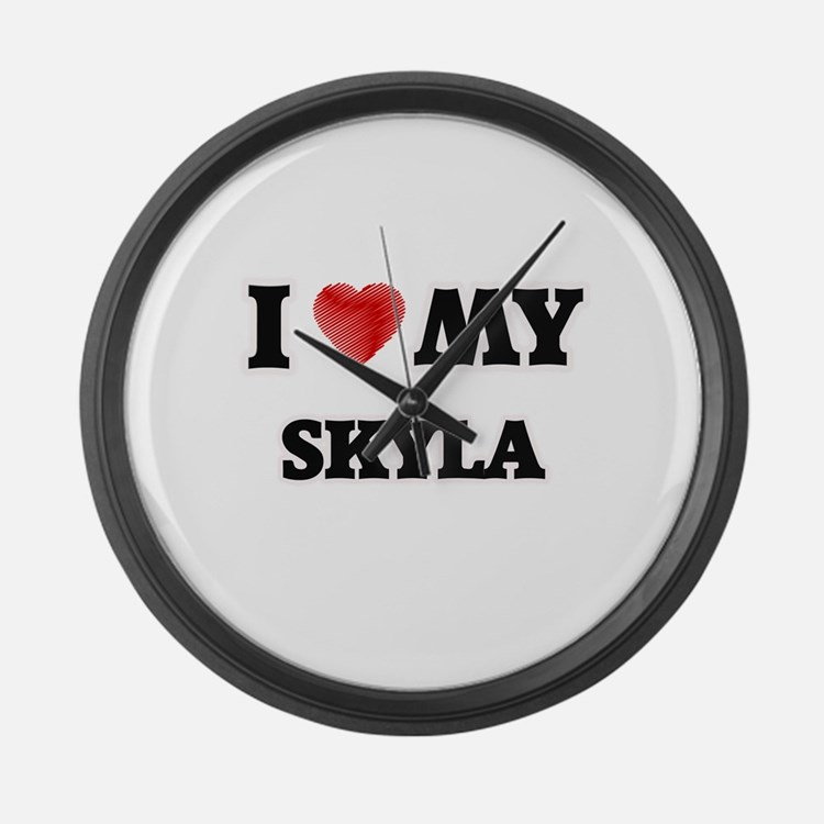 I love my Skyla Large Wall Clock