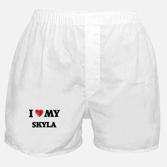 I love my Skyla Boxer Shorts