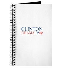 Clinton / Obama 2008 Journal