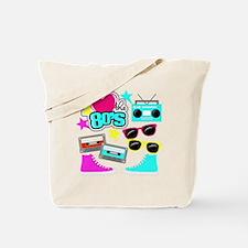 Cute 80s pop culture Tote Bag