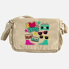 Cute 80s Messenger Bag