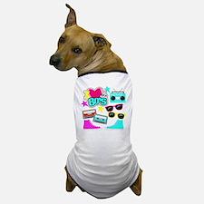 Unique 80s pop culture Dog T-Shirt