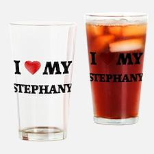 I love my Stephany Drinking Glass