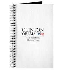 Clinton/Obama: The Dream Team Journal