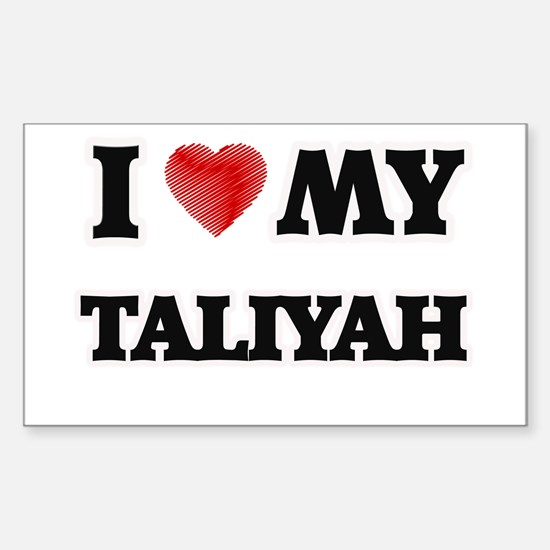 I love my Taliyah Decal