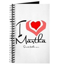 I Heart Martha Journal